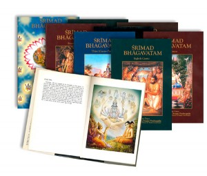 Srimad Bhagavatam knygos