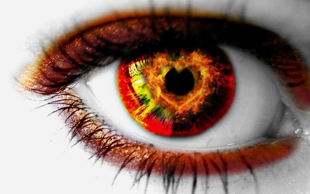 Mylinčios akys